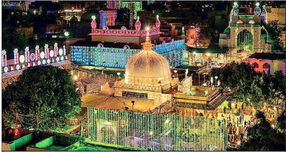 Ajmer sharif Dargah dressed up in illumination to celebrated the Mawlid on 12th Rabi ul Awwal.